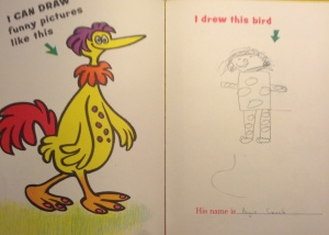 I think my drawing skills have improved in 40 years.