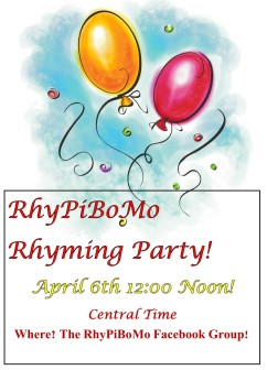 RhyPiBoMo Rhyming Party
