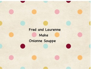 Fred and Laurenne