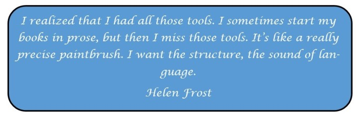 Helen Frost quote