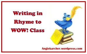 Writing in Rhyme to WOW! class logo