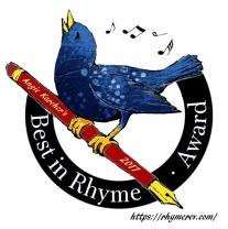 2017 Best in Rhyme Award logo