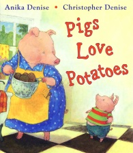 Anika Pigs_love_potatoes