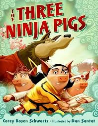 Three Ninja Pigs image