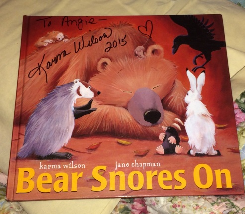 Bear Snores On - My Copy