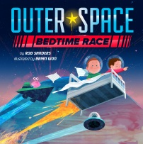 Outer Space Bedtime Race Cover