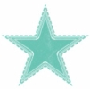 One blue star